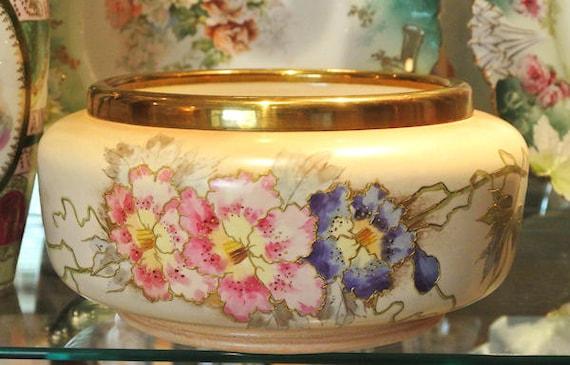 HUGE Royal Bonn / Porcelain Jardiniere / Antique Planter / Garden / Home Decor