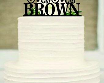 Personalized wedding cake topper, Custom wedding cake topper, Unique wedding cake topper, Rustic wedding cake topper, wedding cake topper