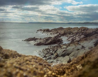 Rock Pools. Whitsands UK