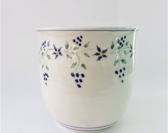 Small Utensil Holder, Small Utensil Crock, Pottery Utensil Holder, Utensil Pot, Pottery Crock, Pottery Jar, Ceramic Utensil Holder