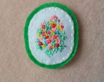 Bouquet of Yesterday (Patch, Pin, Brooch, or Magnet)