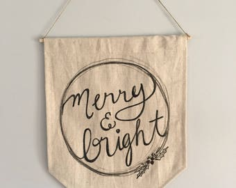 Merry And Bright with Red Berries