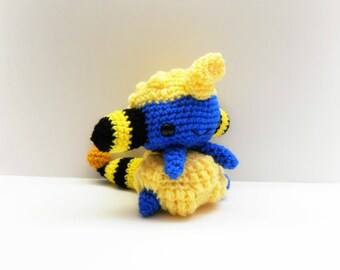 Crochet Mareep Inspired Chibi Pokemon