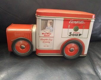 Metal Campbells Soup Truck