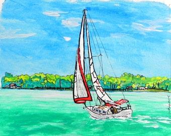 Sails...Sailing Art...wgilroy...sailboats...Sunshine...Wind...Warmth...Sailing...Adventure...