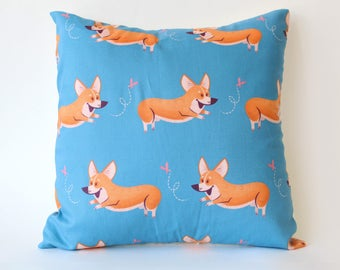 Corgi Throw Pillows