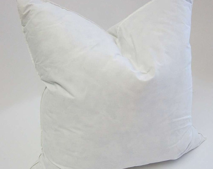 Feather Down Pillow Insert - Only Buy If You've Purchased One of my Pillow Covers!