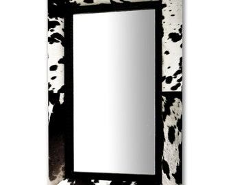 Leather Mirror 765 x 1150 mm (31 x 46 Inches)