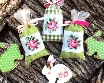 Herbs sachet Bags Natural Fragrance scented Herbs bag Shoe freshener Shoe deodorizer Nature Cotton Pouches Home Living Set 9 piec, baby room