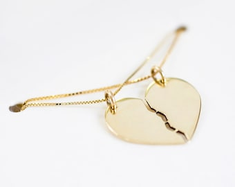 Shares Necklace, 14 Karat Gold
