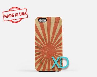 Retro Sun iPhone Case, Rising Sun iPhone Case, Retro Sun iPhone 8 Case, iPhone 6s Case, iPhone 7 Case, Phone Case, iPhone X Case, SE Case