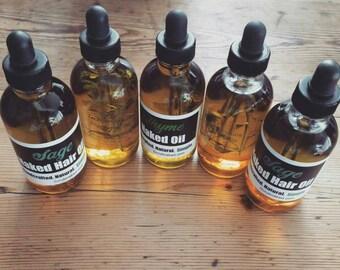 Naked Thyme Hair Oil