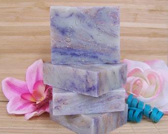 Sugar Plum Soap Holiday Cold Processed Soap Handmade Soap Vegan Soaps