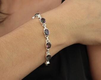Mystic Topaz Bracelet / Sterling Silver