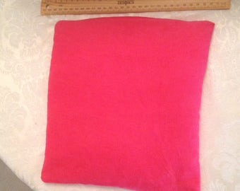 Large Square Rose Scented Heat Pack