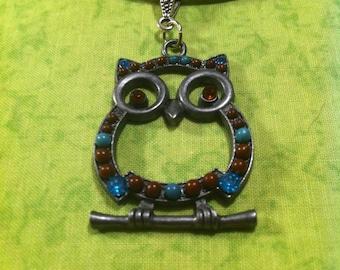 Adorable Owl Necklace