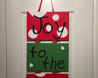 Joy to the World Hanging