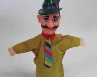 Vintage Fairy Tale Mustache Puppet