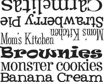 Kitchenaid Decal - Kitchen Aid Vinyl Sticker - Mixer Decal - Kitchen Aid Vinyl Decal 045