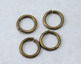 6mm Antique Brass 18 Gauge Jump Ring #RJC032