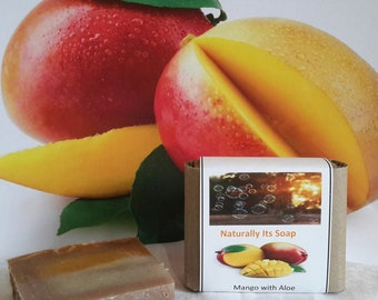Mango with Aloe Scented Soap