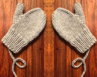 Toddler and child mittens