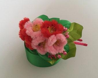 Cherry Blossom Flowers Headband