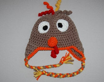 Thom Turkey crochet hat