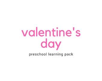 Valentines Day Preschool Pack
