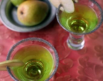 Sparkle Gray cocktail rimming sugar - sparkle sugar for drinks - silver gray rim sugar for martinis, sugar crusted champagne glasses