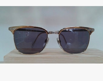 Vintage sunglasses Luxottica 1266 clubmaster style