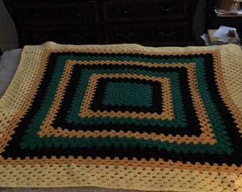 Rose of Sharon blanket