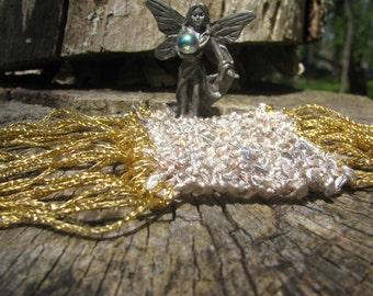 Hand Knit Fairy Rug