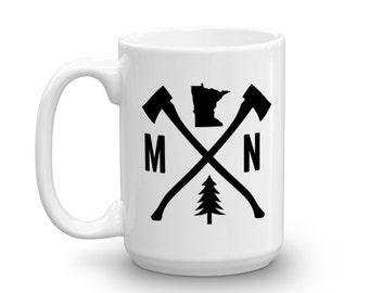 Minnesota Mug | Minnesota Coffee Mug | Minnesota Outdoors Gift | Minnesota Nature Gift | Minnesota Gift | Minnesota Present