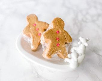 SALE - Gingerbread Bubble Bar - Solid Bubble Bath -  Fall & Thanksgiving Bath Gift - Gingerbread - Christmas Bath - Kids Bubble Bath