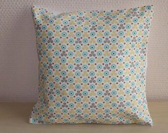Cushion cover pattern vintage style - 24 x 24 cm