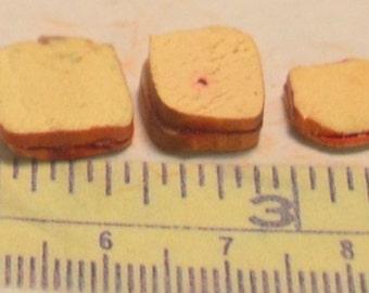 1/12 scale jam sandwiches