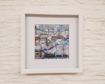 Writhlington Colliery, Radstock, Framed Print by Amy Yates