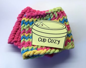 Knitted Cup Cozy Set