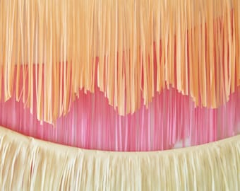 Fringe Garland - Choose your color!