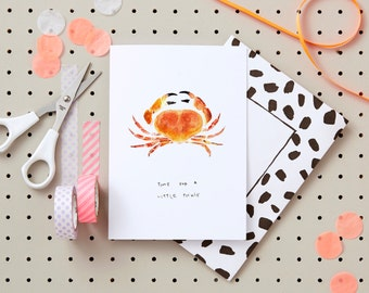 Time for a little tickle Greeting s Card