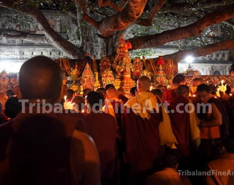 The Bodhi Tree, Bodh Gaya , India - Digital Download Photography