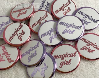 Magical Girl Buttons