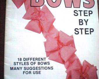 Bow Making Step by Step Booklet