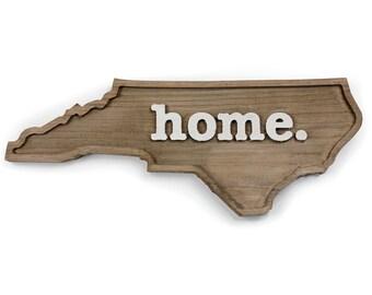 North Carolina home. Rough Cut Mill Wood Wall Hanging