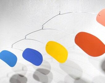 rainbow bubblicious - hanging art mobile