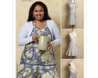 Butterick Sewing Pattern B5436 Aprons