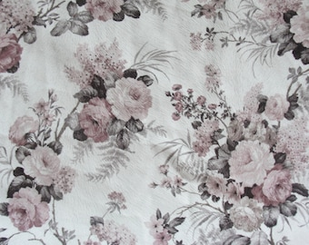 Floral Printed Upholstery Fabric