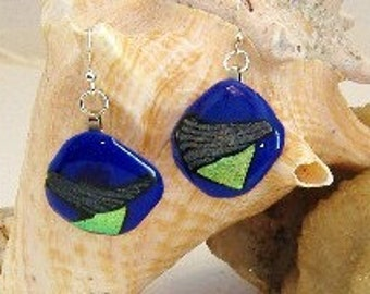 Blue Fusion Earrings