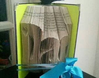 DAD folded and gift wrapped book